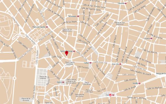 Restaurante Sandó Mapa